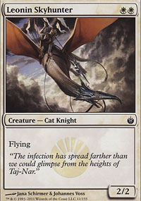Leonin Skyhunter - Mirrodin Besieged