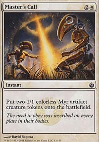 Master's Call - Mirrodin Besieged