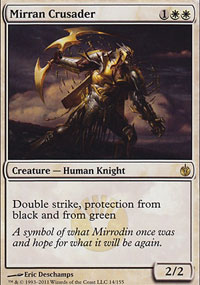 Mirran Crusader - Mirrodin Besieged