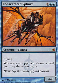 Consecrated Sphinx - Mirrodin Besieged