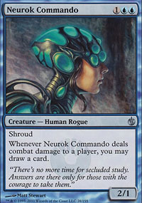 Neurok Commando - Mirrodin Besieged