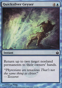Quicksilver Geyser - Mirrodin Besieged
