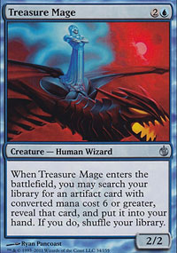 Treasure Mage - Mirrodin Besieged