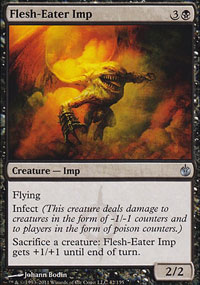 Flesh-Eater Imp - Mirrodin Besieged