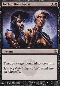 Go for the Throat - Mirrodin Besieged