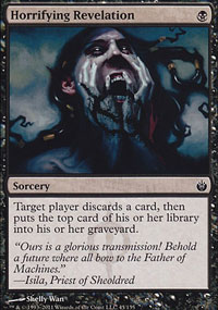 Horrifying Revelation - Mirrodin Besieged