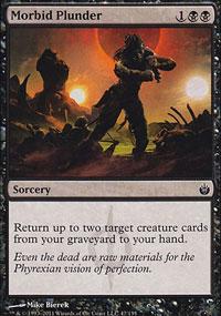 Morbid Plunder - Mirrodin Besieged