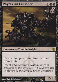 Phyrexian Crusader - Mirrodin Besieged