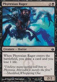 Phyrexian Rager - Mirrodin Besieged