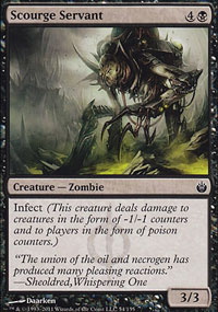 Scourge Servant - Mirrodin Besieged
