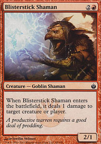 Blisterstick Shaman - Mirrodin Besieged