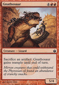 Gnathosaur - Mirrodin Besieged