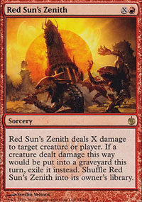 Red Sun's Zenith - Mirrodin Besieged