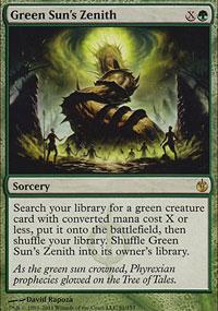 Green Sun's Zenith - Mirrodin Besieged