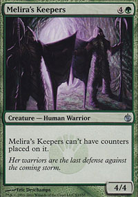 Melira's Keepers - Mirrodin Besieged