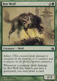 Rot Wolf - Mirrodin Besieged