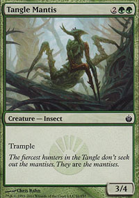 Tangle Mantis - Mirrodin Besieged