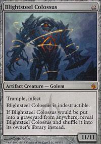 Blightsteel Colossus - Mirrodin Besieged