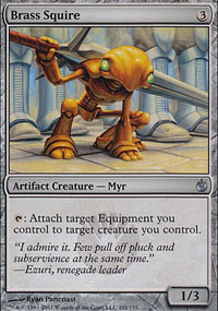 Brass Squire - Mirrodin Besieged