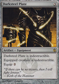 Darksteel Plate - Mirrodin Besieged
