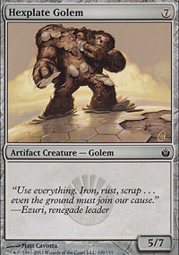 Hexplate Golem - Mirrodin Besieged
