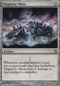 Magnetic Mine - Mirrodin Besieged