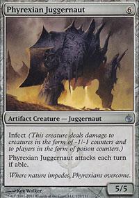 Phyrexian Juggernaut - Mirrodin Besieged