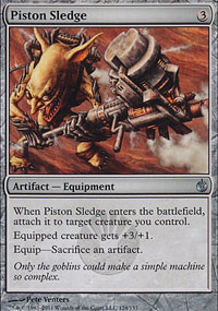 Piston Sledge - Mirrodin Besieged