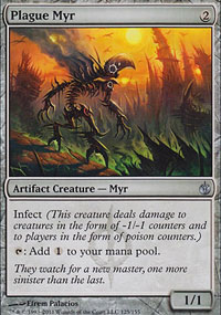 Plague Myr - Mirrodin Besieged