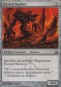 Rusted Slasher - Mirrodin Besieged