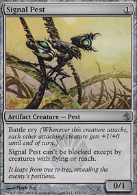 Signal Pest - Mirrodin Besieged