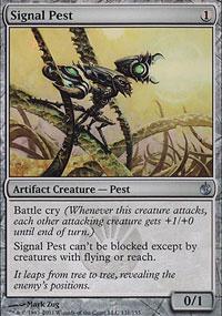 Signal Pest - Mirrodin Besieged