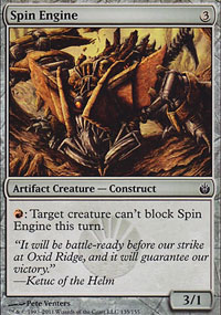 Spin Engine - Mirrodin Besieged