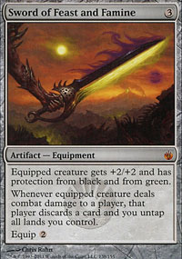 Sword of Feast and Famine - Mirrodin Besieged
