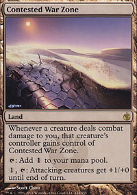 Contested War Zone - Mirrodin Besieged