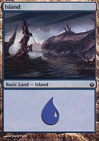 Island 1 - Mirrodin Besieged