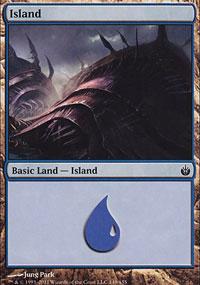 Island 2 - Mirrodin Besieged