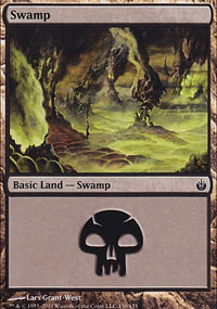 Swamp 1 - Mirrodin Besieged