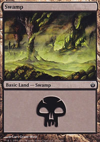 Swamp 2 - Mirrodin Besieged