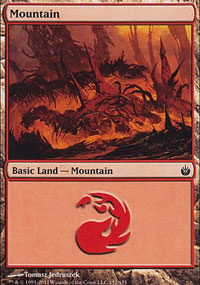 Mountain 1 - Mirrodin Besieged