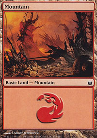 Mountain 2 - Mirrodin Besieged