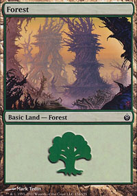 Forest 1 - Mirrodin Besieged
