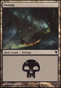Swamp - Modern Event Deck