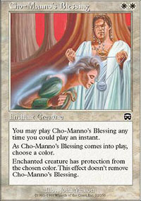 Cho-Manno's Blessing - Mercadian Masques
