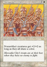 Common Cause - Mercadian Masques