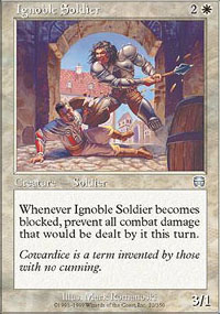 Ignoble Soldier - Mercadian Masques