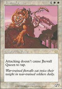 Jhovall Queen - Mercadian Masques