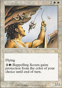 Rappelling Scouts - Mercadian Masques