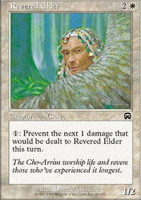 Revered Elder - Mercadian Masques