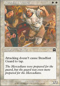 Steadfast Guard - Mercadian Masques